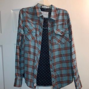 Abercrombie & Fitch Women's Flannel Button-Up